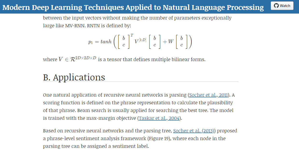 Modern Deep Learning Techniques Applied To Natural Language